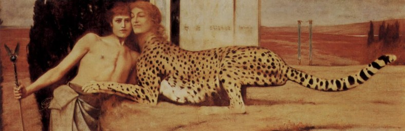 Fernand Khnopff Sphinx Caresses