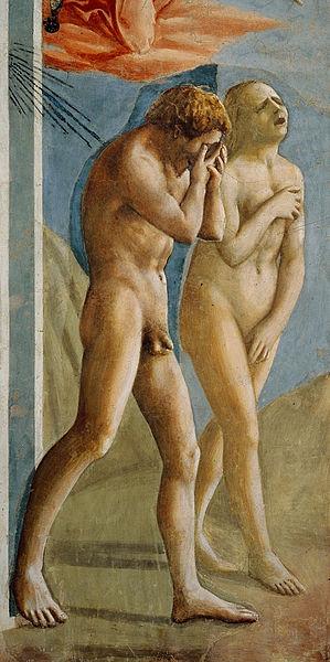 299px-Masaccio_expulsion-1427_crop