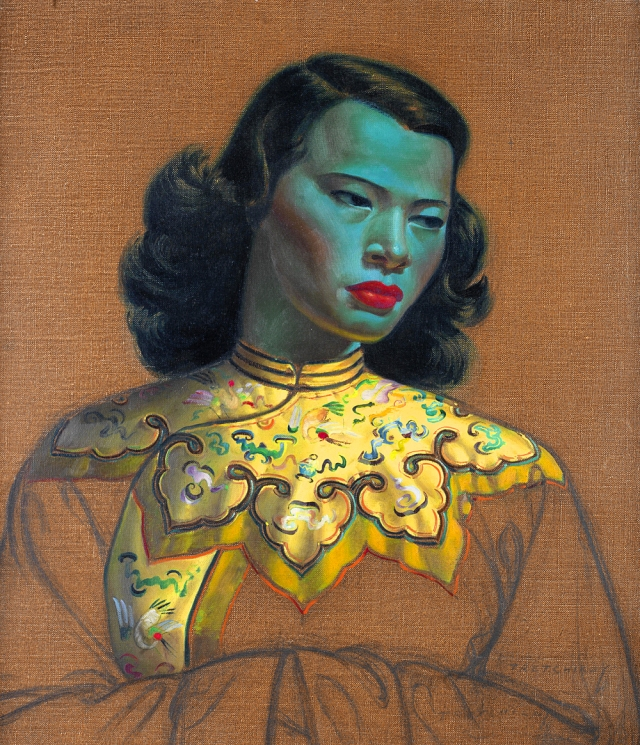 Vladimir Tretchikoff, Chinese Girl, 1952