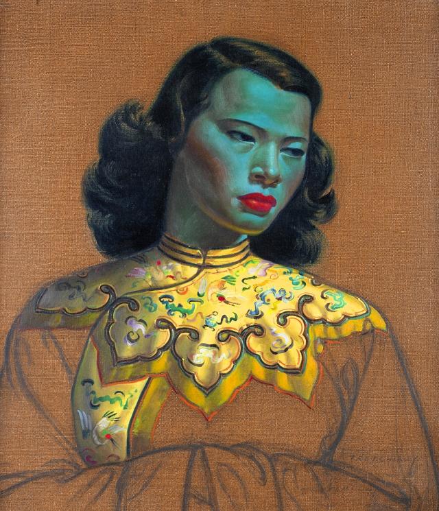 Vladimir Tretchikoff, Chinese Girl, 1952