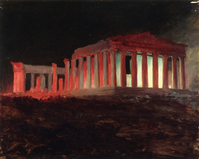 Parthenon, Athens, from the Northwest