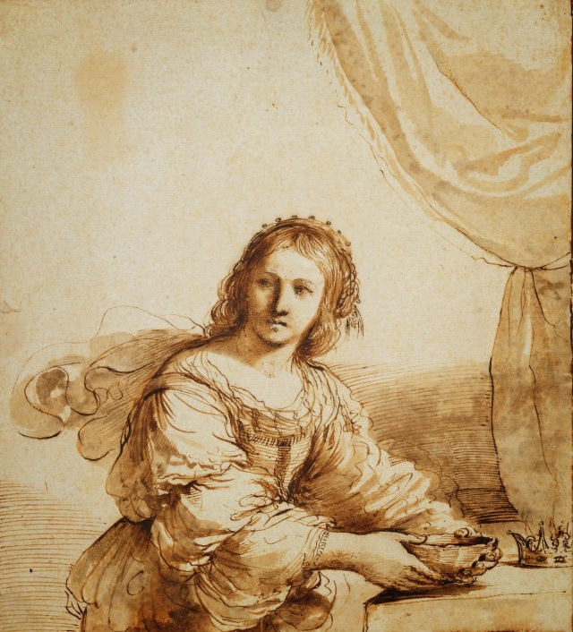 Royal-Guercino-Sophonisba-with-Poison-c1630