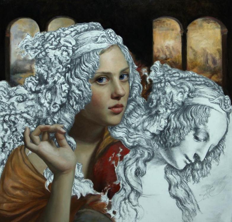 Magdalene's Niece, oil on linen