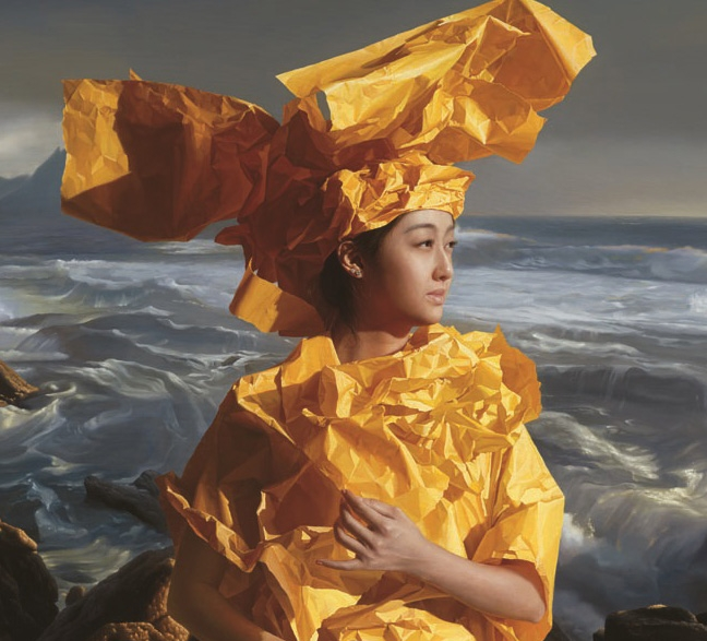 zeng-chuanxing-paper-bride-listening-to-the-sea-prints-and-multiples-giclée-zoom-2