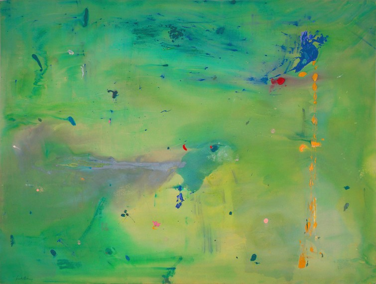 Helen-Frankenthaler-A-Green-Thought-in-a-Green-Shade