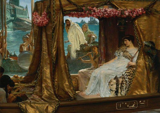 800px-Sir_Lawrence_Alma-Tadema_-_The_Meeting_of_Antony_and_Cleopatra