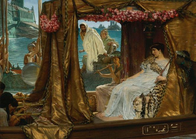 800px-Sir_Lawrence_Alma-Tadema_-_The_Meeting_of_Antony_and_Cleopatra