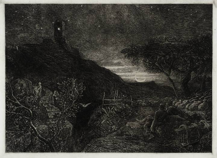 The Lonely Tower 1879, reprinted 1973 Samuel Palmer 1805-1881 Presented by Iain Bain 1991 http://www.tate.org.uk/art/work/T06518