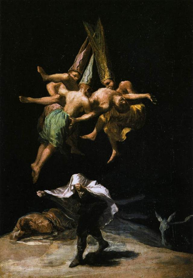 Goya - Witches in the Air