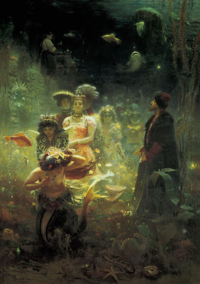 Ilya Yefimovich Repin Sadko in the Underwater Kingdom.jpg